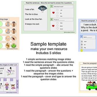 @RebeccaAllgeier Reading set - sample templates Link Thumbnail | Linktree