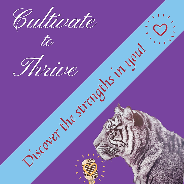 @CultivateandThrive Cultivate to Thrive Podcast Link Thumbnail | Linktree
