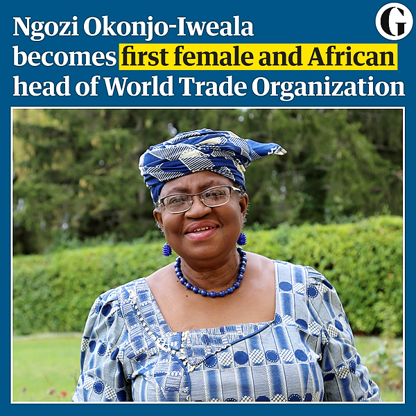 'I'm a fighter': first female, African head of WTO ready for battle