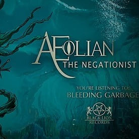 Aeolian Official BLEEDING GARBAGE lyric video Link Thumbnail | Linktree