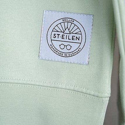 ST.EILEN-Sweat GENUG. Stem Green L