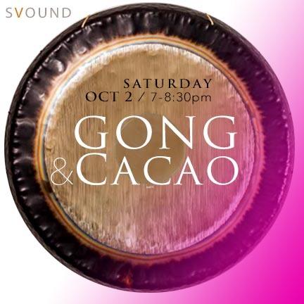 @svound Saturday, Oct. 2: Awaken the Sacral Chakra - GONG & CACAO  Link Thumbnail   Linktree