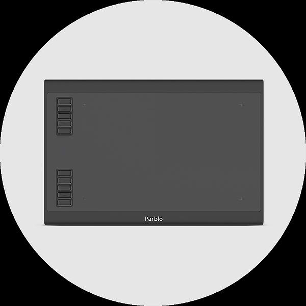 @parblotech USA - A610 Plus V2 Drawing Tablet Link Thumbnail | Linktree