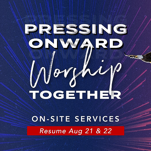 Sep 13-19 Bulletin Pressing Onward, Worship Together: On-site Services  Link Thumbnail | Linktree