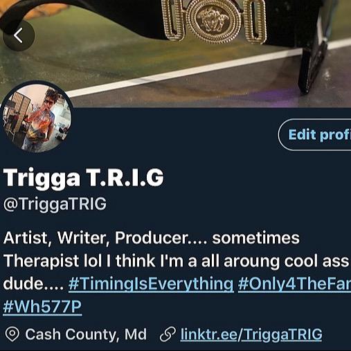 @TriggaTRIG Follow @TriggaTRIG on Twitter Link Thumbnail | Linktree