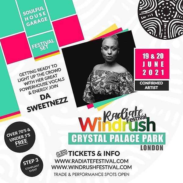 Tickets for Da Sweetnezz at Radiate Festival!!!