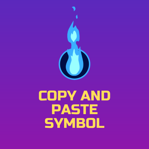@symbolscopyandpaste Profile Image | Linktree