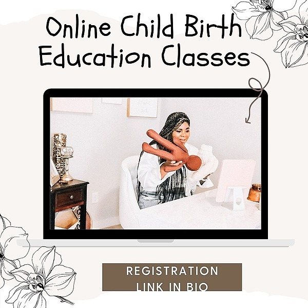 Nadia The Doula&Business Coach Child Birth Class Link Thumbnail   Linktree