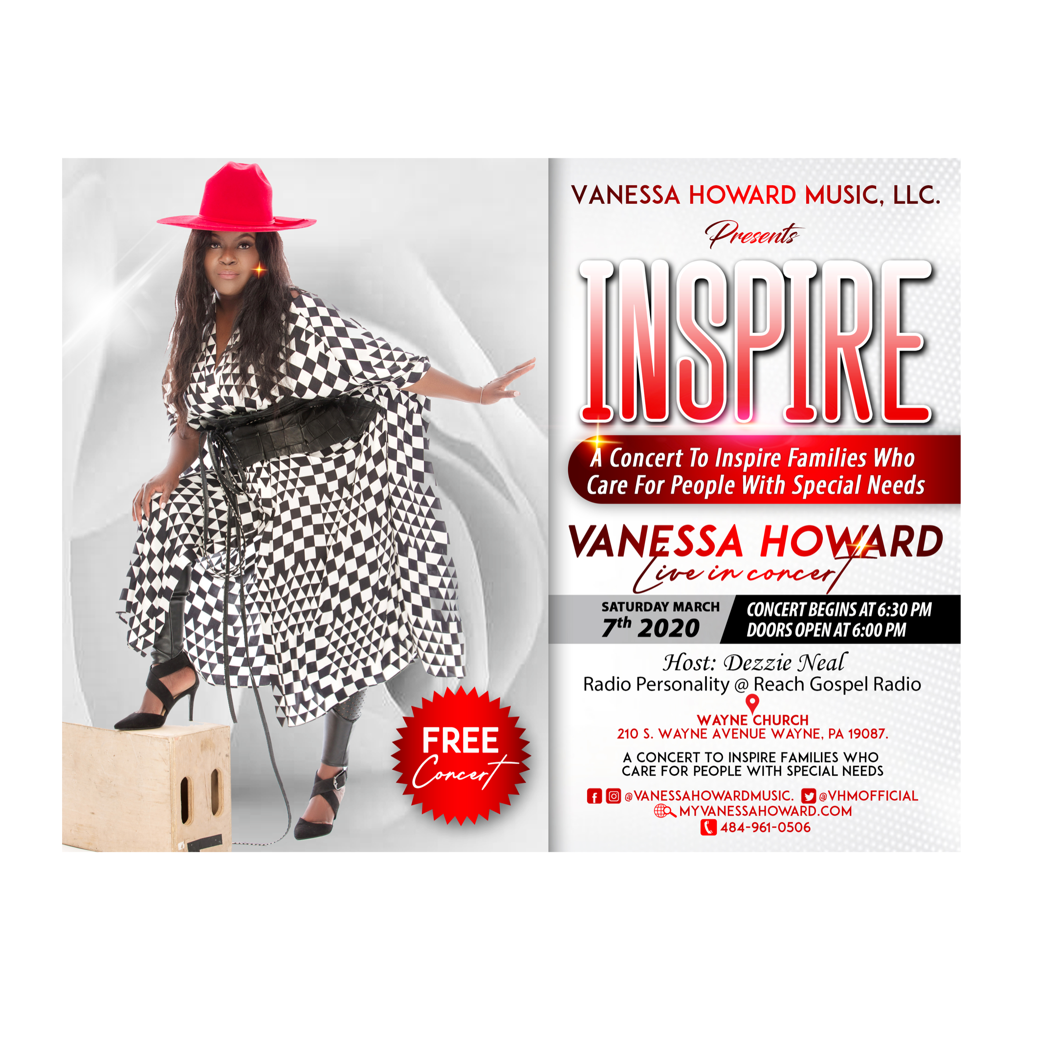 INSPIRE CONCERT: Ministry To People With Disabilities