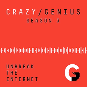 """The Atlantic Listen to the """"Crazy/Genius"""" Podcast Link Thumbnail 
