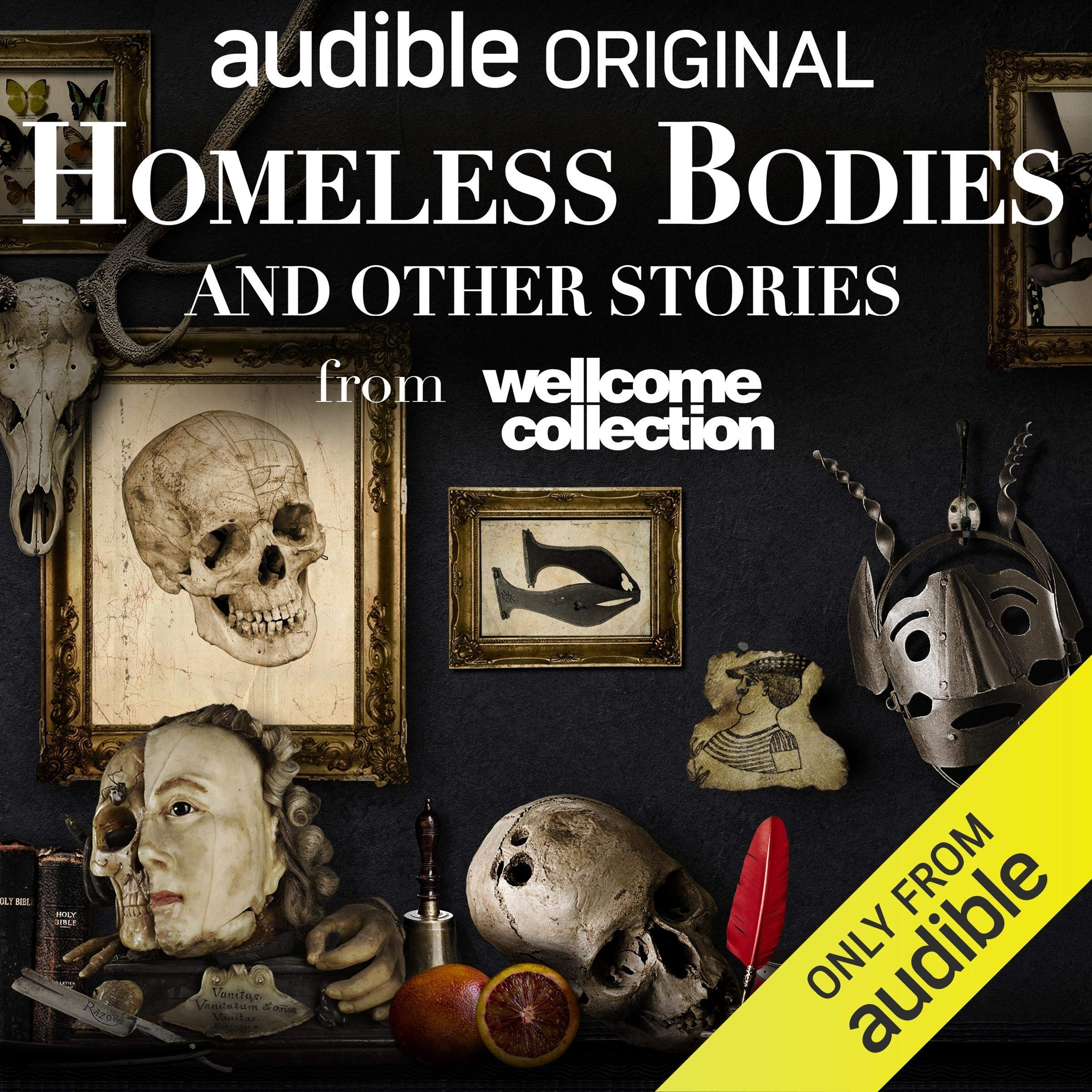 Audible UK Homeless Bodies and Other Stories Link Thumbnail | Linktree