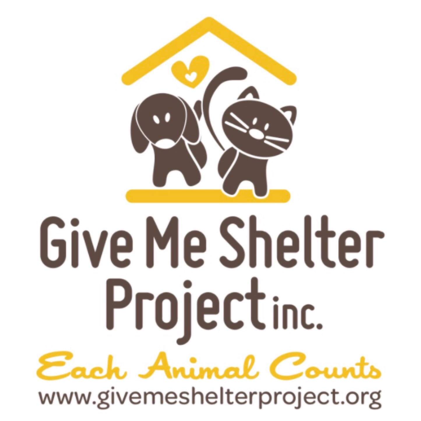 Give Me Shelter Project Website Link Thumbnail | Linktree