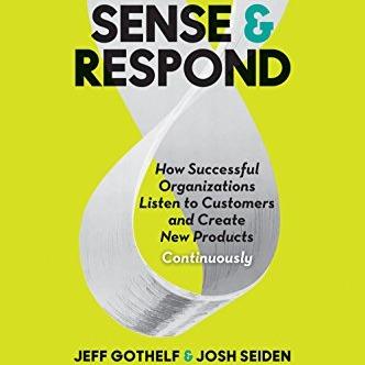 """#Bônus Melissa Perri - livro 4 """"Sense and Respond"""""""