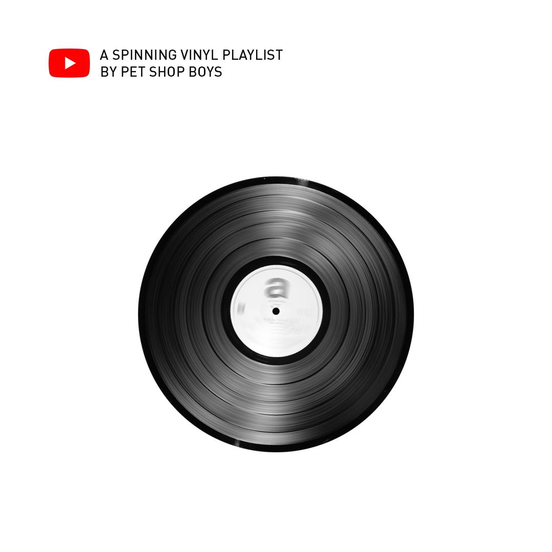 A Spinning Vinyl Playlist on YouTube
