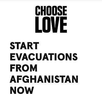 @payitbackuk CHOOSE LOVE email tool: Tell your MP that the UK must start evacuations from Afghanistan now  Link Thumbnail | Linktree