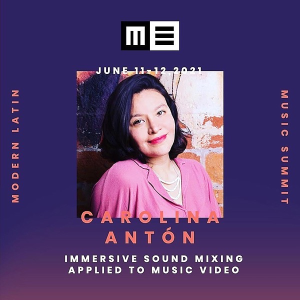 Carolina Antòn Immersive Sound Mixing Applied to Music Video We will talk about creativity and immersive ways of mixing using binaural Ambisonic format. Link Thumbnail | Linktree