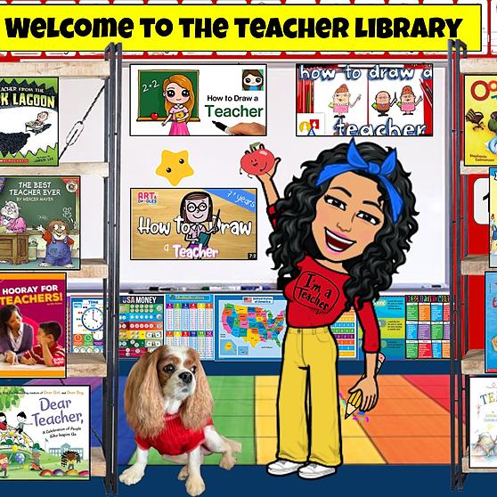 Miss Hecht Teaches 3rd Grade Teacher Library Link Thumbnail | Linktree