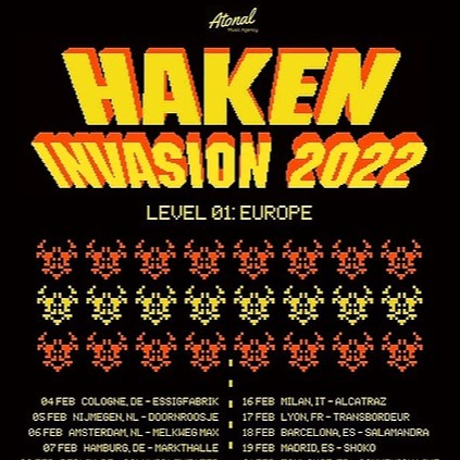 R o s s _J e n n i n g s Haken 'Invasion 2022' Tickets Link Thumbnail | Linktree