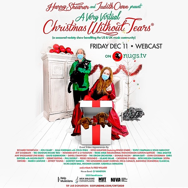 Christmas Without Tears Live Online Show Dec 11th
