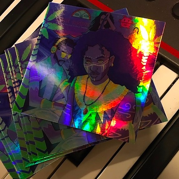 Buy Limited Edition Love Inside Holographic Stickers! 💥