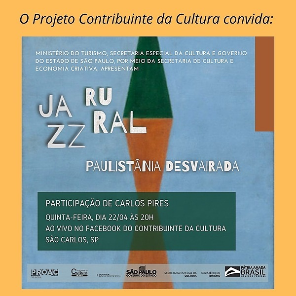 @centroculturaluspsc Jazz Rural - Paulistânia Desvairada Link Thumbnail   Linktree