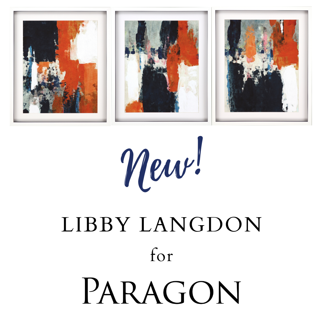 NEW | Libby Langdon for Paragon Wall Decor Introductions