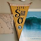 Save San O Flag