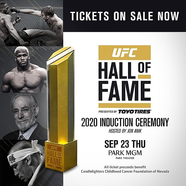 CLICK BELOW! UFC 2020 Hall of Fame Induction Ceremony Tickets Link Thumbnail   Linktree