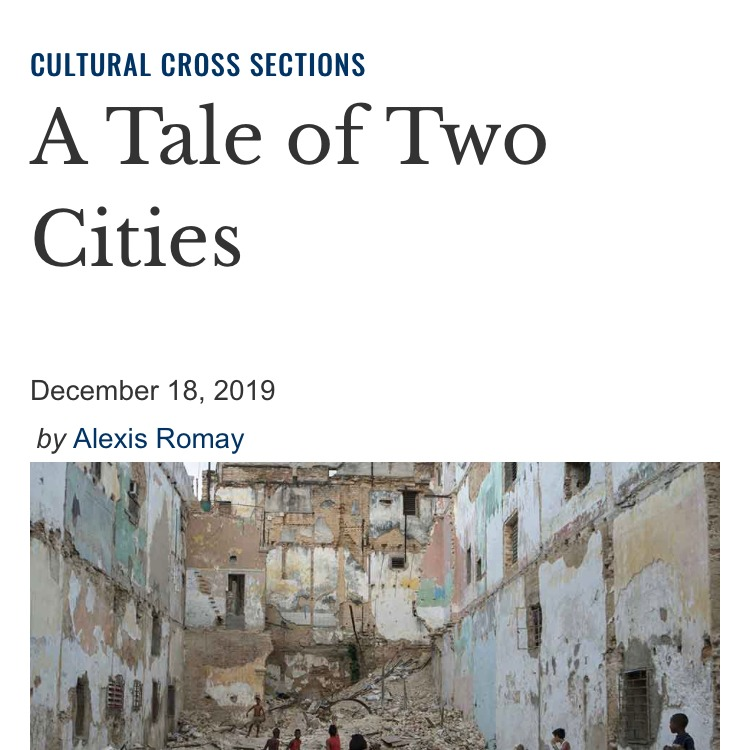 """@worldlittoday: """"A Tale of Two Cities"""""""