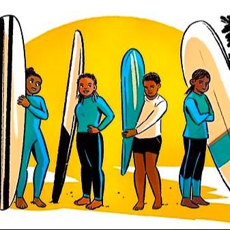 Black Girls Surf Why Black Girls Surf is Making Big Waves Link Thumbnail   Linktree