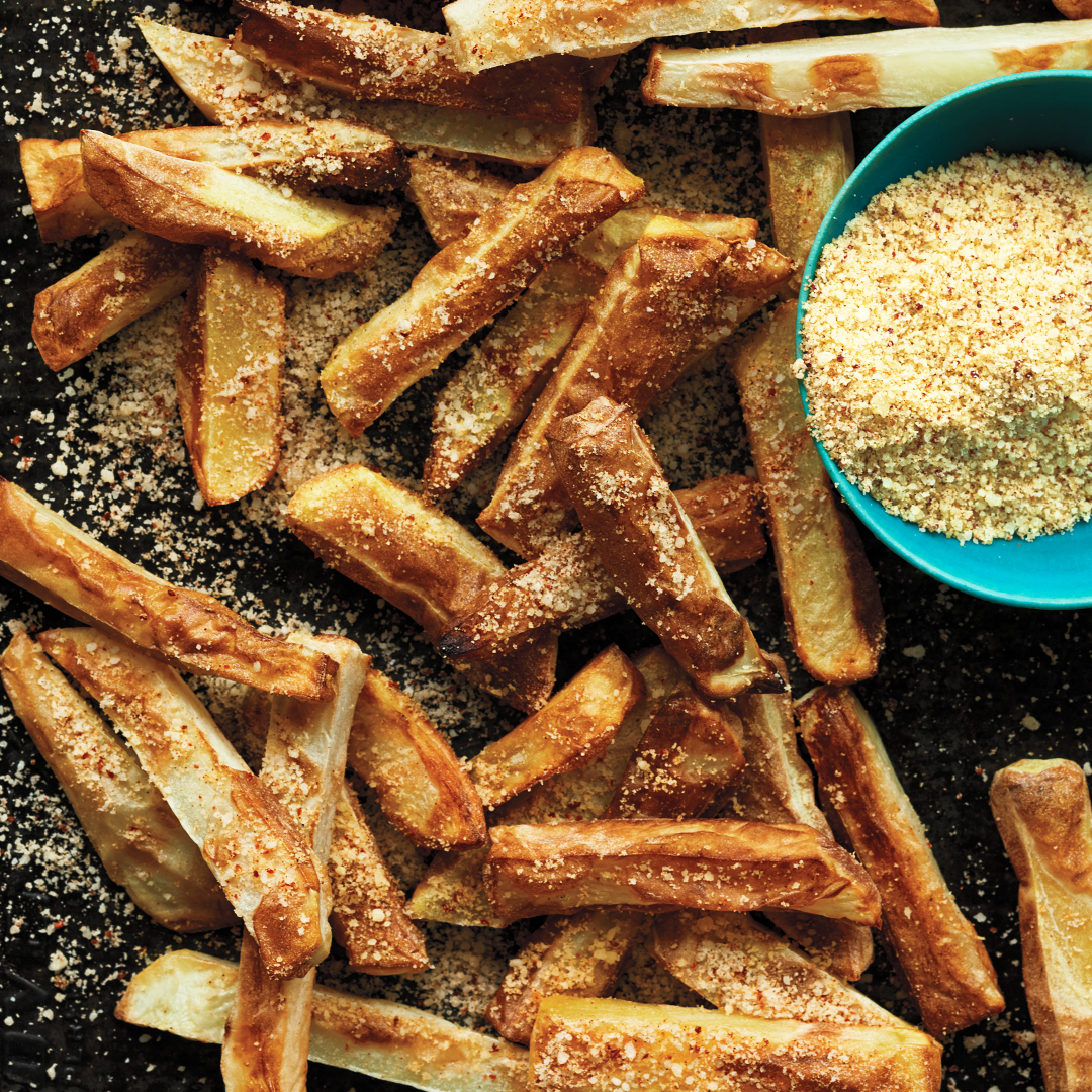 Cheese Dusted Fries Recipe