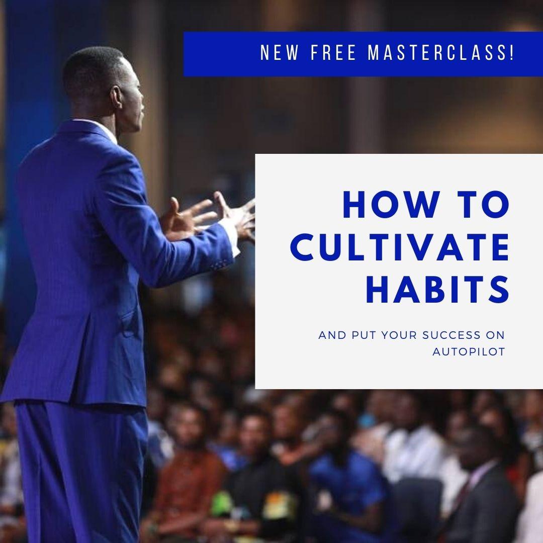 FREE MASTERCLASS SUCCESS HABITS