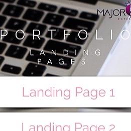 Landing Pages - Portfolio