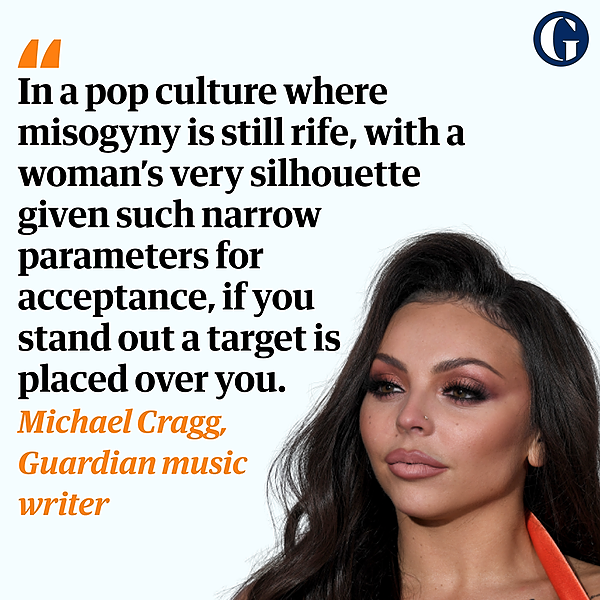 Jesy Nelson: abuse has cruelly silenced one of pop's few unfiltered voices