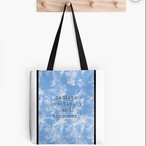 findthebeauty Positivity Tote Bag FOR SALE Link Thumbnail   Linktree
