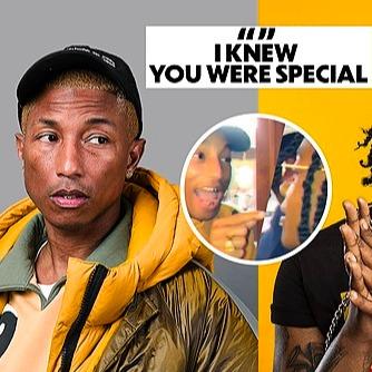 @connectionismagic Pharrell Meets Jozzy – Video Link Thumbnail | Linktree