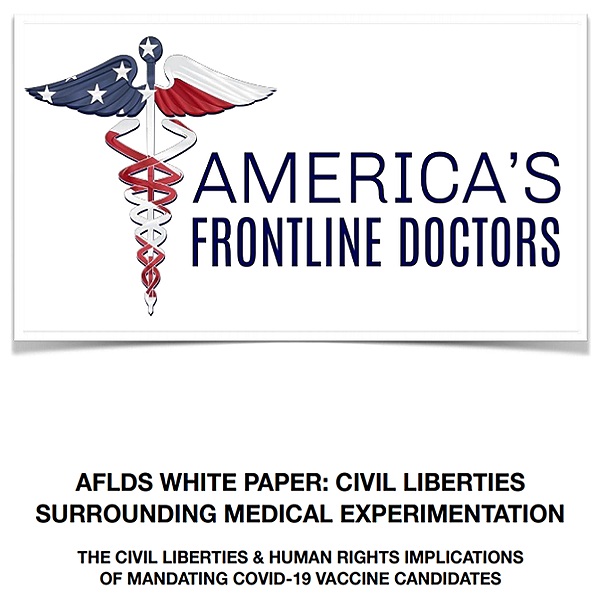 : #healthylivinglinks : AFLDS WHITE PAPER: CIVIL LIBERTIES SURROUNDING MEDICAL EXPERIMENTATION Link Thumbnail | Linktree