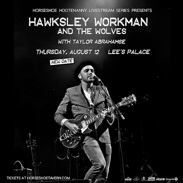 @hawksleyworkman Hawksley Workman & The Wolves LIVE STREAM from Lee's Palace Aug 12 Link Thumbnail | Linktree