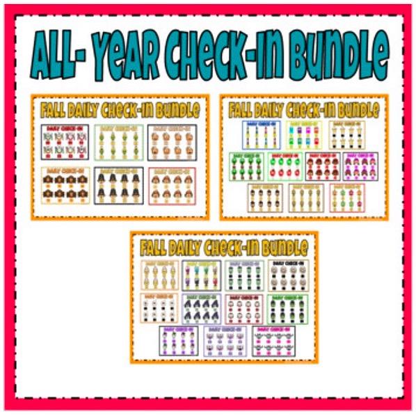 @thefirstgradecreative All Year Social Emotional Check-in Bundle Link Thumbnail   Linktree
