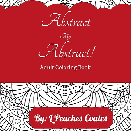 Abstract My Abstract Adult Coloring Book
