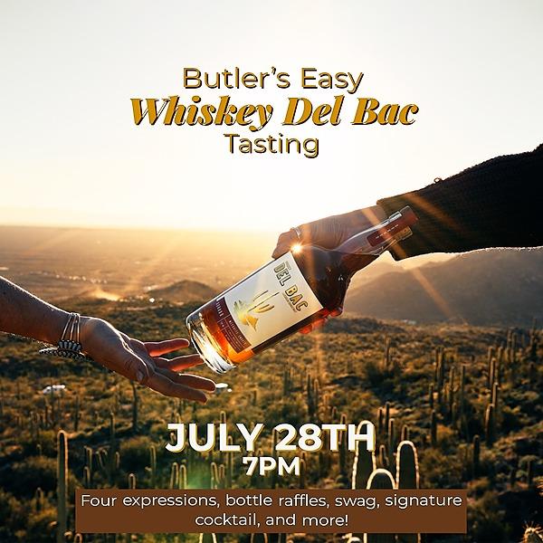 Butler's Easy Del Bac Whiskey Tasting at Butler's Easy Link Thumbnail | Linktree