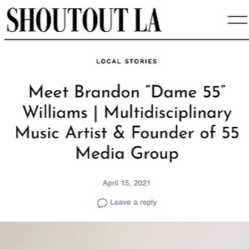 55 Media Group Shout Out LA Feature Link Thumbnail | Linktree