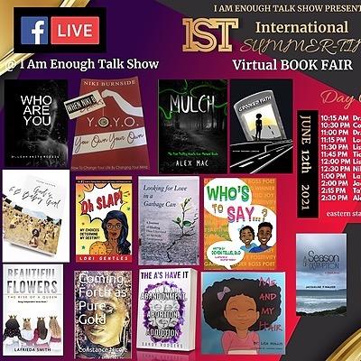 @AuthorLaFrieda I AM Enough Book Fair 6/12/21 Link Thumbnail | Linktree