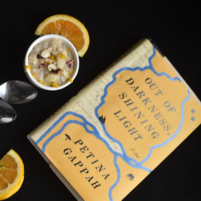 "Eat the Book: ""Spiced Rice Pudding"" 
