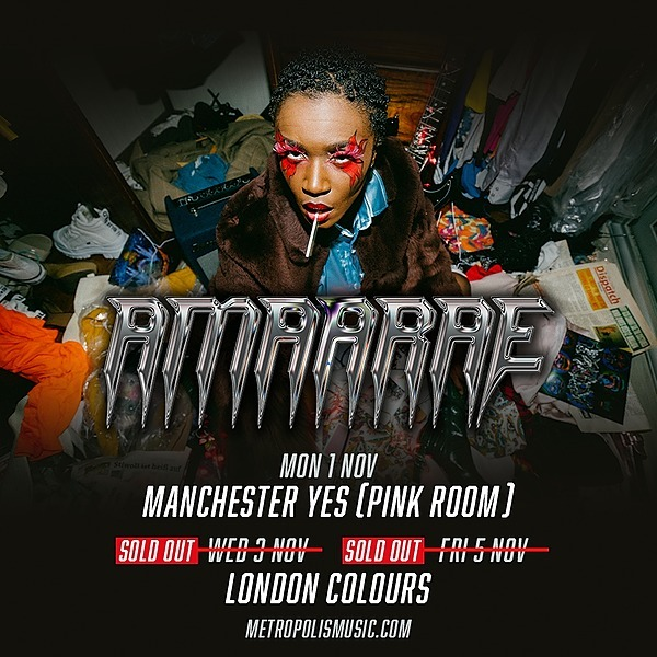 @Amaarae_ 03/11/2021 -  Colours, London (SOLD OUT)  Link Thumbnail | Linktree