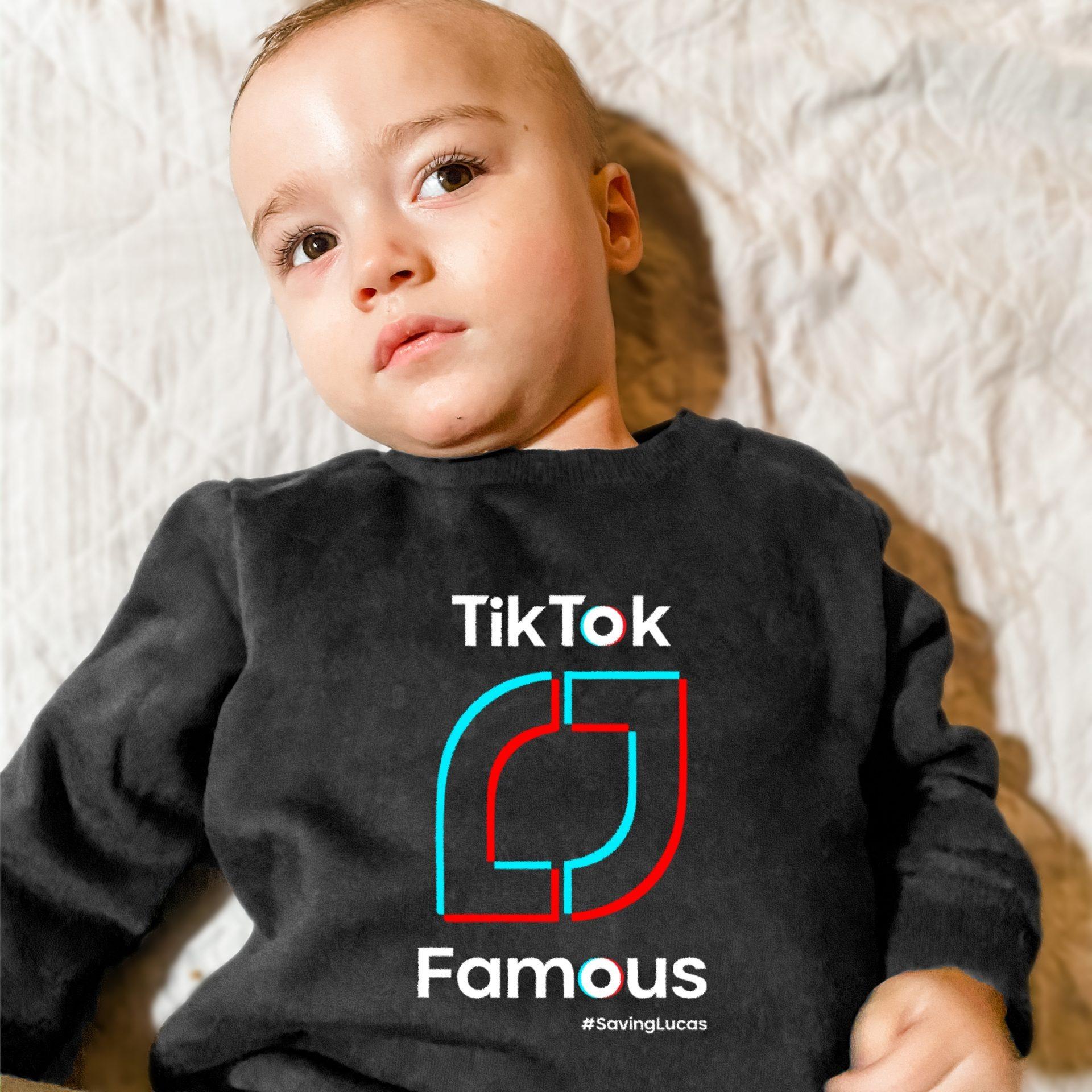 TikTok Famous Free T-shirt #SavingLucas