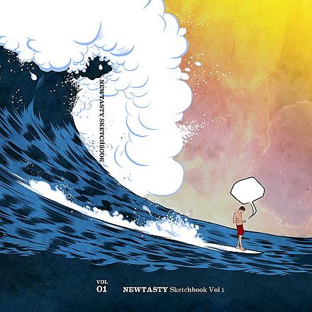Newtasty Buy Sketchbook Vol. 1 Link Thumbnail | Linktree