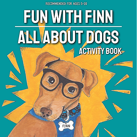 "Buy ""Fun with Finn Activity Book: All About Dogs"""