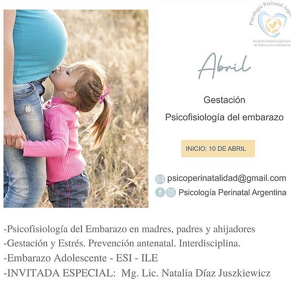 """@Psicologiaperinatalargentina Curso ABRIL: """"PSICOFISIOLOGÍA DEL EMBARAZO"""" Link Thumbnail   Linktree"""
