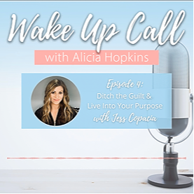 Podcast interview on Wake Up Call with Alicia Hopkins